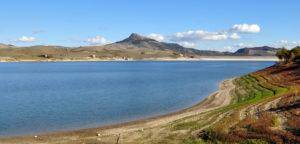 Irpinia. Il Lago di Conza della Campania.
