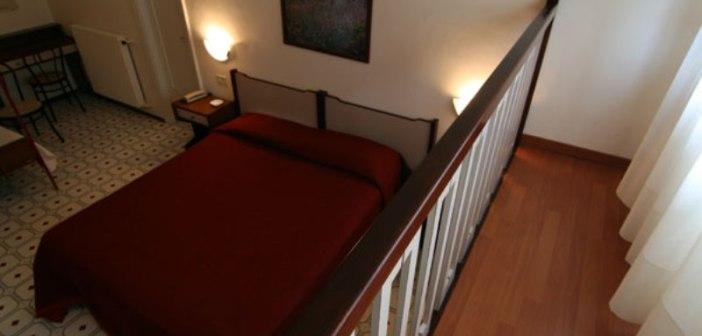 Una camera dell hotel La Castagna
