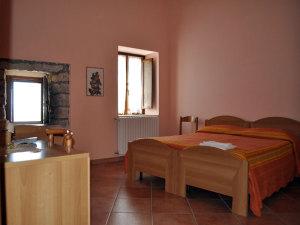 Una camera dell' Oasi Masseria Sant'Elia