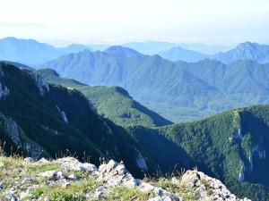 Sentiero l'alta via dei Monti Picentini