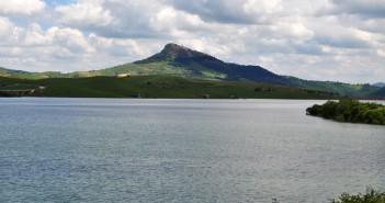 Il lago di Conza della Campania