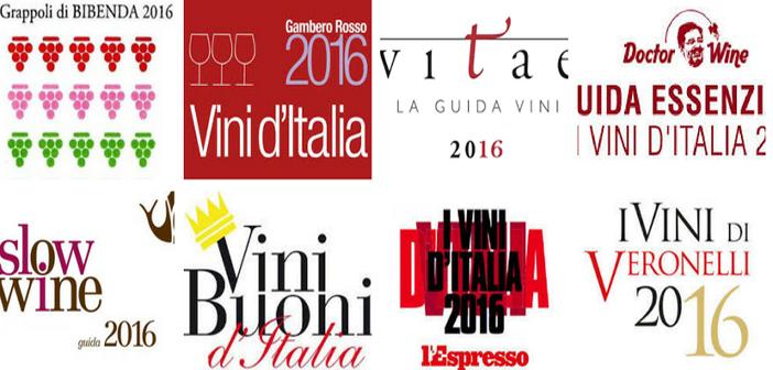 I vini irpini premiati dalle guide