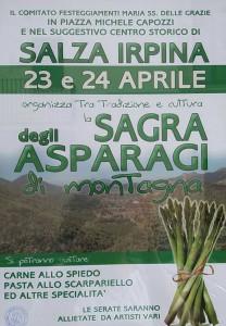 Sagra-asparagi salza irpina