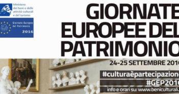 Giornate europee del patrimonio 2016, gli eventi in Irpinia - 24/25 settembre