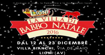 La Villa di Babbo Natale a Lioni