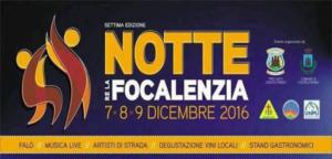 Notte re la focalenzia - Castelfranci 7-8-9 Dicembre 2016