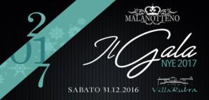 GALA - NYE 2017 - Villa Rubra - Mercogliano