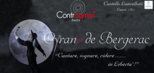 """spettacolo Teatrale """"Cyrano de Bergerac"""" al castello Lancellotti di Lauro (AV)"""